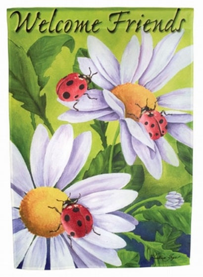 Home and Garden | Decorative Flags Ladybugs