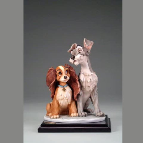 Giuseppe Armani-Disney Figurine Lady and the Tramp