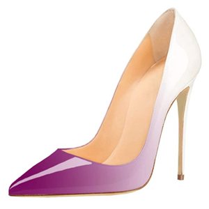 5 Inch Heel Lavender Pumps for Women Shoes