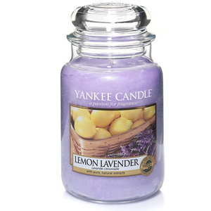 Yankee Candle Large Jar Candle Lemon Lavender