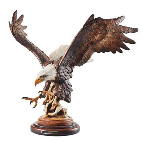 Wildlife Sculpture | Liberty Eagle Sculpture by Stephen Herrero