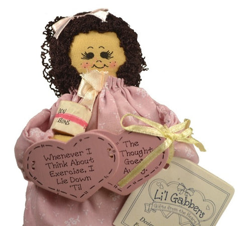Enesco | Li'l Gabbers Exercise Rag Doll