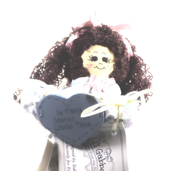 "Enesco | Li'l Gabbers Rag Doll ""So Many Stories"""
