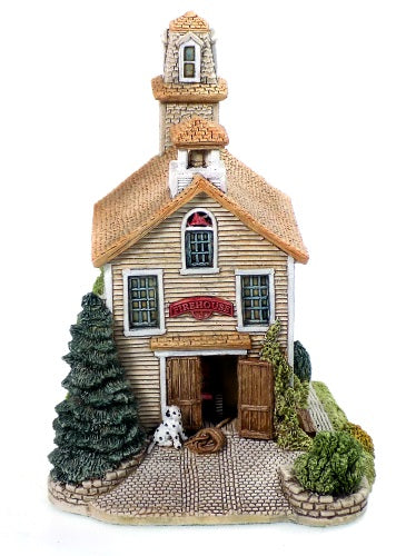 Collectibles | Lilliput Lane Cottages Fire House I