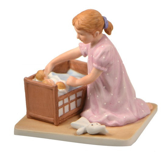 Figurines | Norman Rockwell Figurine Little Mother