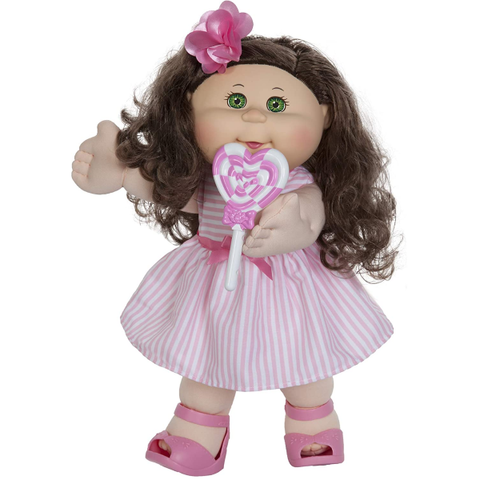 Cabbage Patch Kids Doll with Pink Heart Lollipop