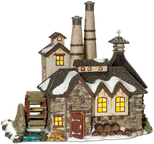 Department 56 Dickens' Village London Gin Distillery