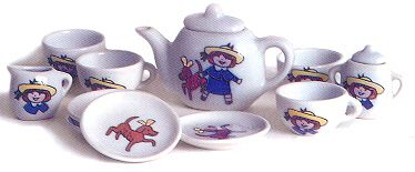Madeline Doll Tea Set