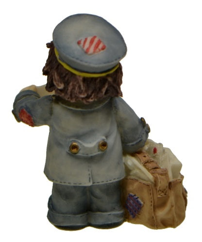 Collectibles | Cute As A Button Mailman by Enesco Figurines