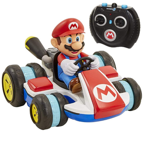 Super Mario 02497 Nintendo Super Mario Kart 8 Mario Anti-Gravity Mini RC Racer Toy