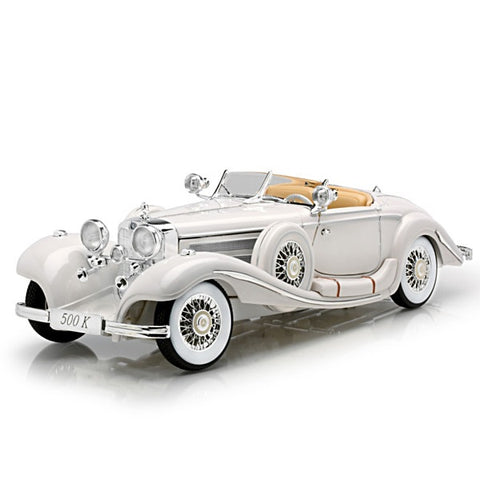 Die-Cast Cars |  1936 Mercedes-Benz 500K Special Roadster Diecast Car