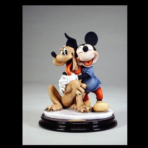 Giuseppe Armani Disney Mickey Mouse and Pluto Figurine