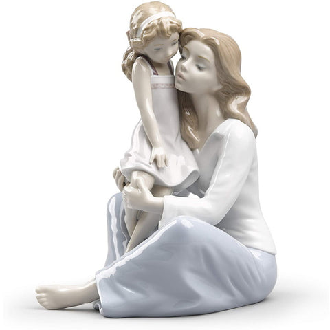 Lladro Mommy's Little Girl Mother Figurine