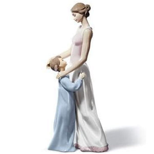 Lladro Someone to Look Up to Handmade Porcelain Figurine