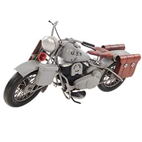 Old Modern Handicrafts 1945 Motorcycle Collectible