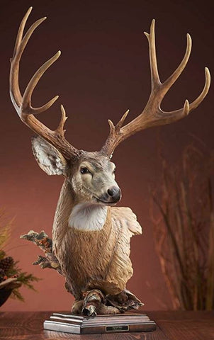 Wildlife Sculpture | Deer Sculpture by Stephen Herrero