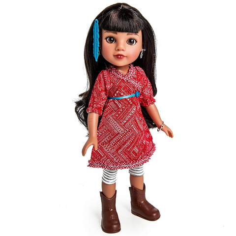 Heart For Hearts Girls Mosi Native American Style, USA Doll