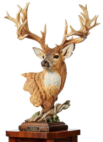 Wildlife Sculpture | Whitetail Deer Sculpture
