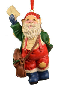 Holiday | Christmas Ornaments Mail Bag Santa Ornament