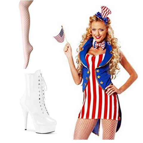 Adult Costumes | Patriotic Costumes All American Independence Day Dress