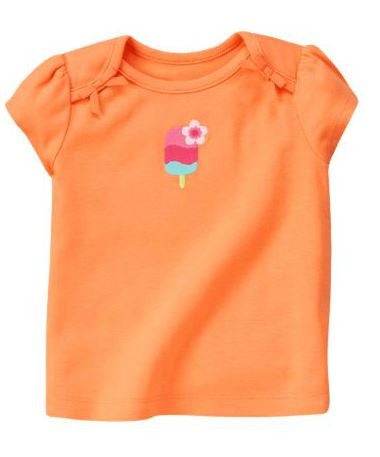 Baby Clothes | Gymboree Peach Popsicle Shirt For Baby Girl 3-6 Months