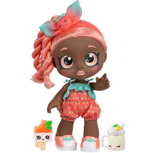 Kindi Kids Snack Time Friends, Pre-School 10 inch Doll - Summer Peaches