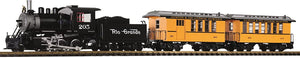 Piko 38111 Denver and Rio Grande Western Passenger Start Set w/Lights, Sound, Smoke