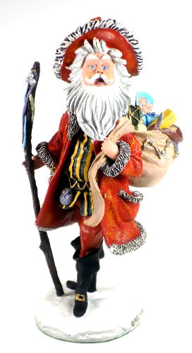 Holiday | Christmas Santa Claus Figurine Pilgrim Santa