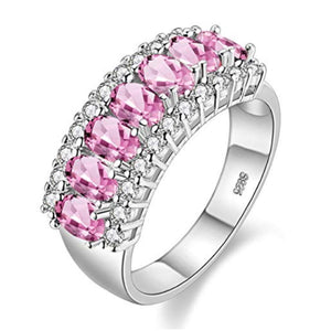 Jewelry | Pink Ice and Cubic Zirconia Ring