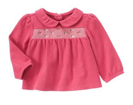 Baby Clothes | Gymboree Smocked Top For Baby Girl