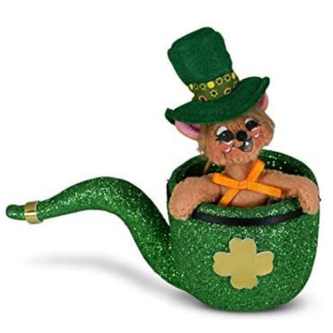 Annalee Dolls | Annalee 3in Irish Pipe Mouse