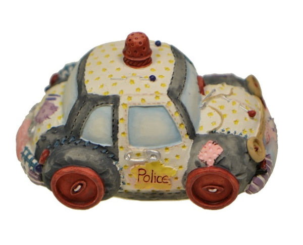Collectibles | Cute As A Button Police Car and Policeman by Enesco Figurines
