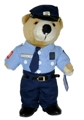 Plush | Policeman Teddy Bear
