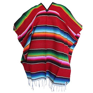 Mexican Gifts and Party Favors Mexican Poncho