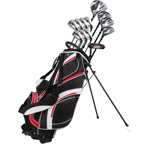 18 Piece Men's Complete Golf Club Package Set | AimRite Golf