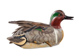 Green Winged Teal Duck Decoy