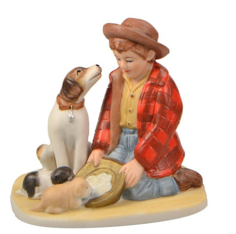 Figurines | Norman Rockwell Figurine Pride of Parenthood
