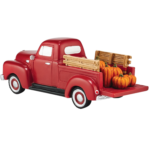 Department 56 Village Harvest Fields Pick Up Truck Accessory Figurine