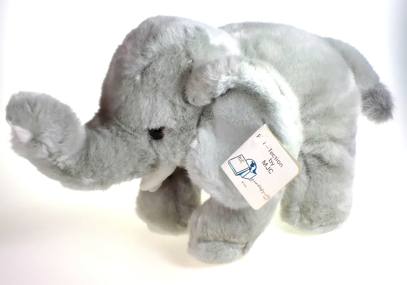 Plush | Stuffed Purr Fection 18 Inch Trumpet Elephant Animal