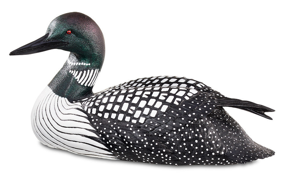 Duck Decoys | Quarter Size Loon Decoy 1/4 Size by Sam Nottleman
