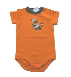 Baby Clothes | Gymboree Raccoons One Piece Bodysuit For Baby Boy