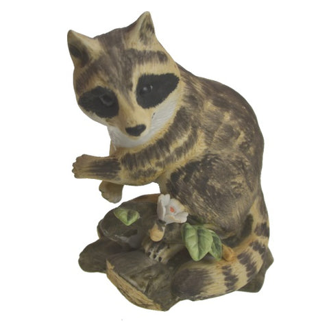 Figurine | Royal Crown Raccoon Figurine One Great Shop