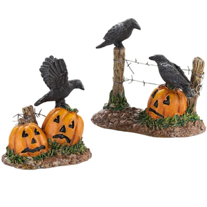 Accessories for Villages Halloween Ravens