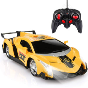 Hobby |  Yellow Remote Control Car