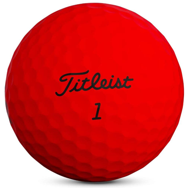 Golf Equipment |  Titleist TruFeel Red Golf Balls