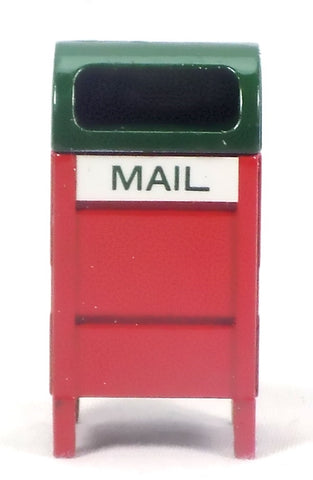 Christmas Village Accessories Mail Box