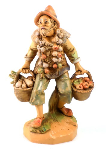 Fontanini Collectibles Nathan Vegetable Merchant