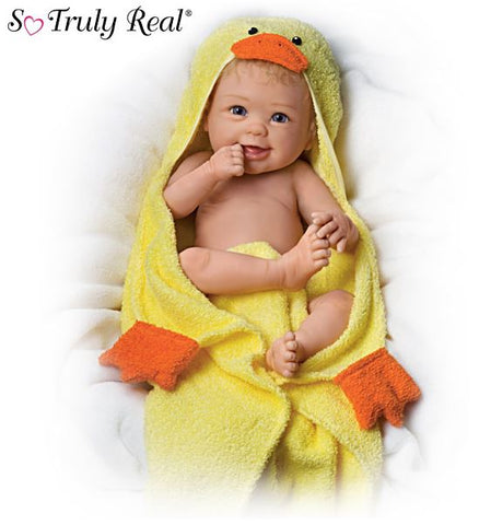 Dolls | Rub A Dub Dub Ashton Drake Baby Doll