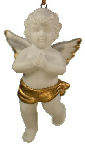 Holiday | Christmas Ornaments Angel with Folded Hands Ornament