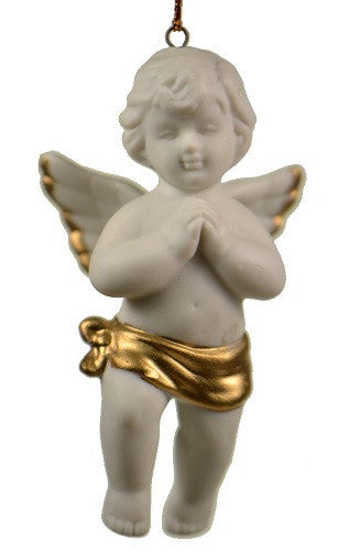 Holiday | Christmas Ornaments Angel with Praying Hands Ornament